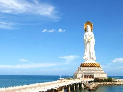 南山海上观音圣像